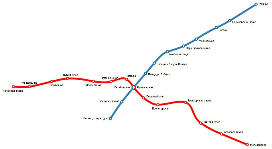 Минск схема станция метро на карте фото 775